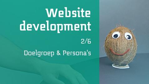 Thumbnail for entry 2/6 Website development : Doelgroep & Persona's