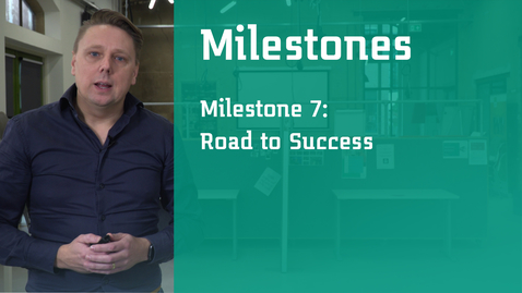 Thumbnail for entry Milestone 7: Road to Success