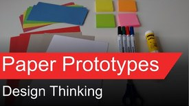 Thumbnail for entry OTP08 - Design Thinking - Paper Prototypes