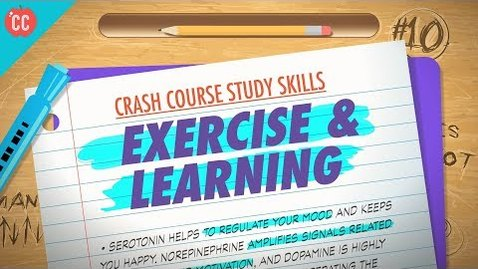 Thumbnail for entry Exercise: Crash Course Study Skills #10
