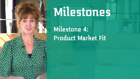 Thumbnail for entry Milestone 4: Product Market Fit