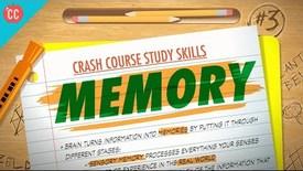 Thumbnail for entry Memory: Crash Course Study Skills #3