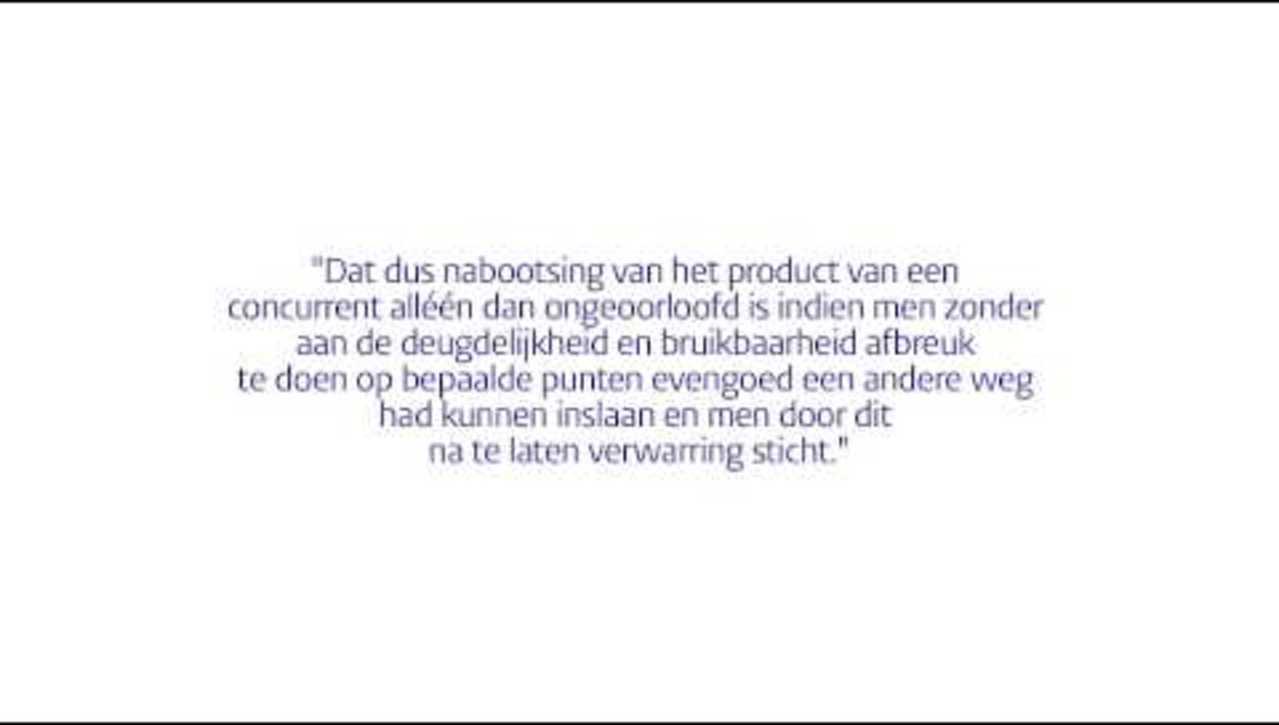OHBR08 - Kennisclips intellectuele eigendom - Slaafse nabootsing (10/10)