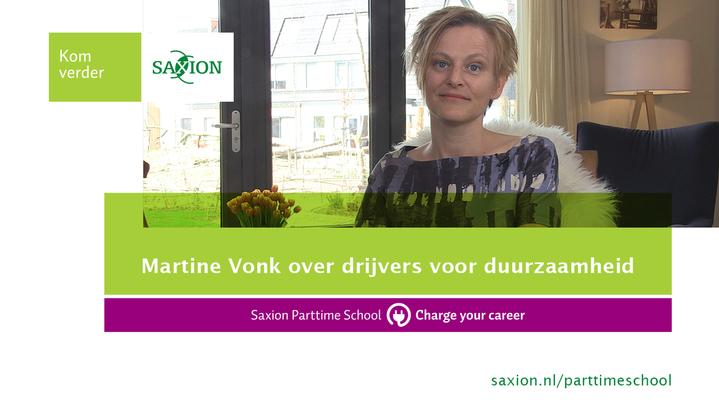 Thumbnail for channel Martine Vonk over drijvers voor duurzaamheid