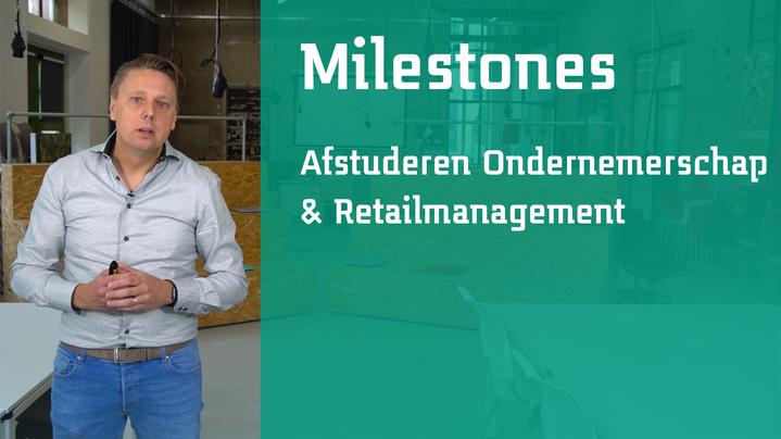 Thumbnail for channel Milestones afstuderen Ondernemerschap & Retailmanagement