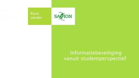 Thumbnail for entry HBS - Informatiebeveiliging vanuit studentperspectief