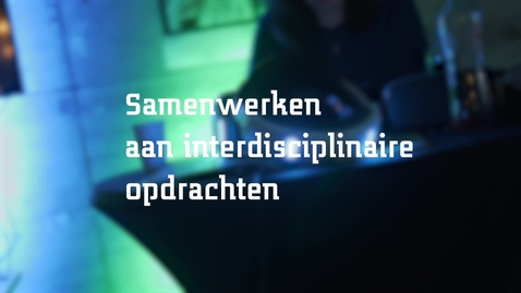 Thumbnail for entry SOM: Samenwerken aan interdisciplinaire opdrachten