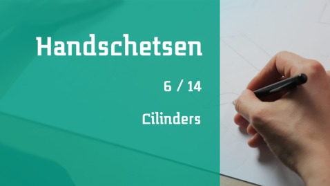 Thumbnail for entry 6/14 Handschetsen : cilinders