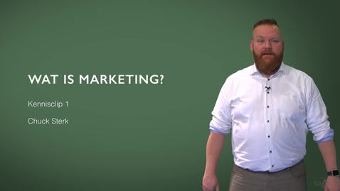 Thumbnail for entry Kennisclip Marketing 1 - Wat is marketing