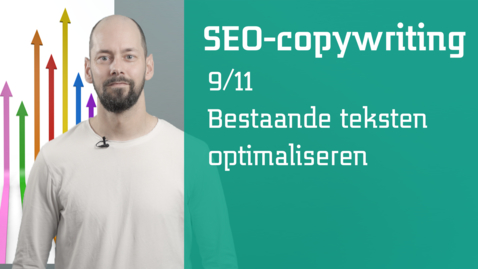Thumbnail for entry 9/11 SEO-copywriting :  bestaande teksten optimaliseren