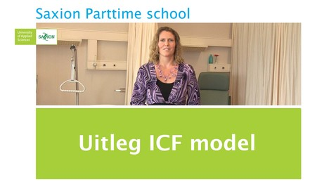 Kennisclip: Uitleg ICF model door: Eveline de Beer