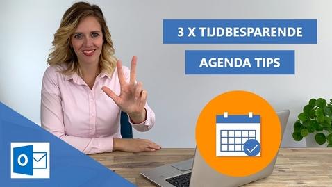 Thumbnail for entry Outlook - Tijdbesparende agenda tips & trick