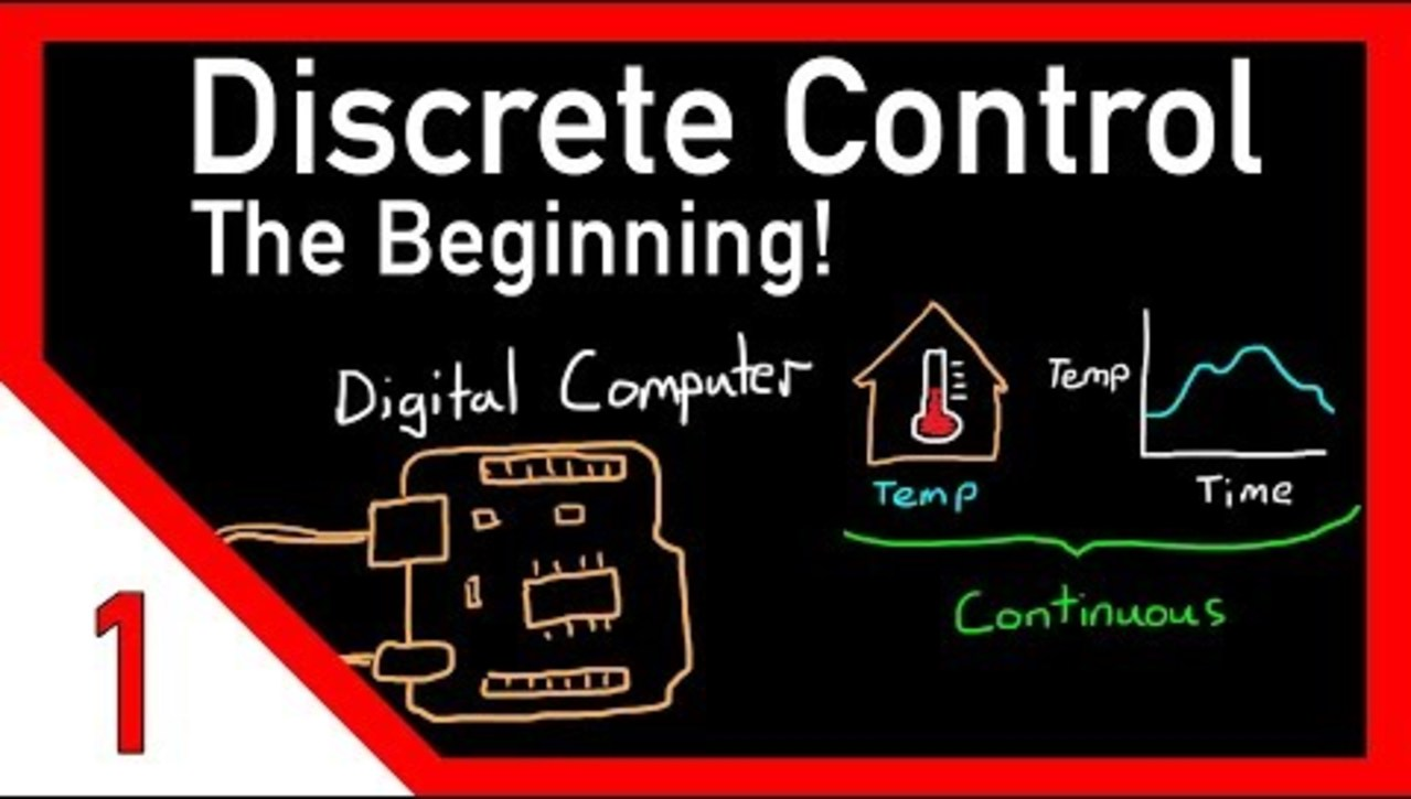 OMT24 - Discrete control #1: Introduction and overview
