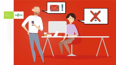 Thumbnail for entry Office 365 - Word minder afgeleid door je mail