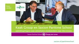 Thumbnail for entry Kaak Group en Saxion Parttime School ondertekening intentieverklaring