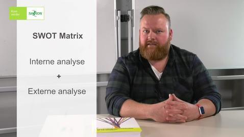 Thumbnail for entry Videocollege 10 SWOT-Matrix