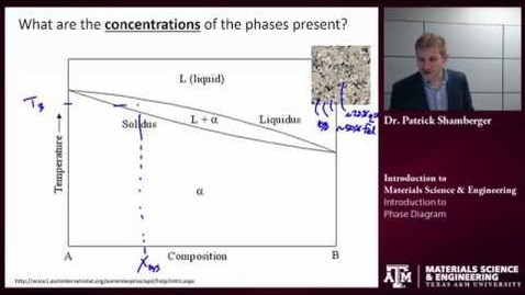 Thumbnail for entry OWB02 - Intro to Phase Diagrams {Texas A&M: Intro to Materials}