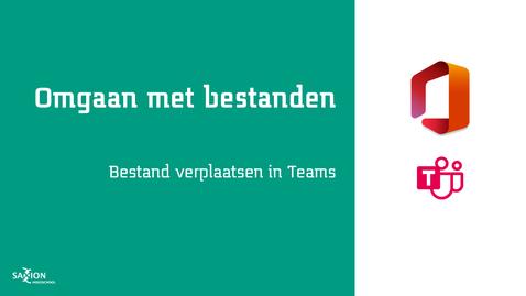 Thumbnail for entry Bestand verplaatsen in Teams
