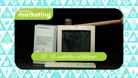 Thumbnail for entry Digitale Marketing 07: 10 usability richtlijnen