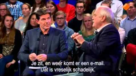 Thumbnail for entry OHRM06 - John Cleese about creativity on NPO College Tour 2014