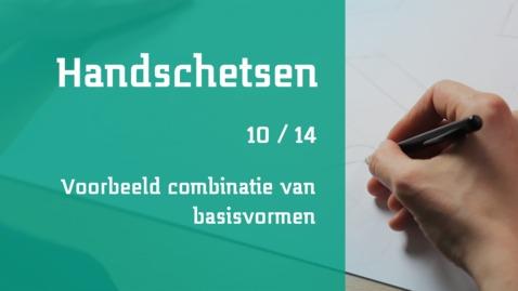 Thumbnail for entry 10/14 Handschetsen : voorbeeld combinatie van basisvormen