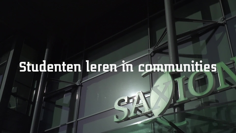 Thumbnail for entry SOM: Studenten leren in communities
