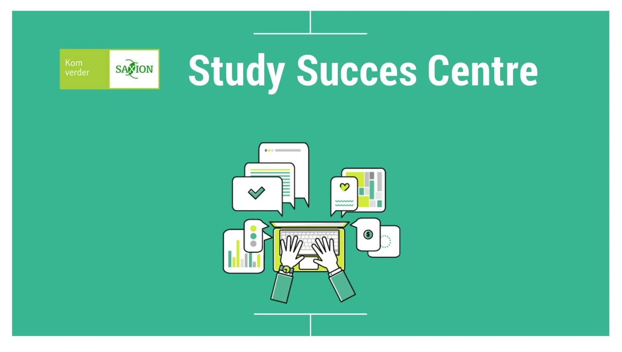 Video about services from the Study Success Centre for first year students