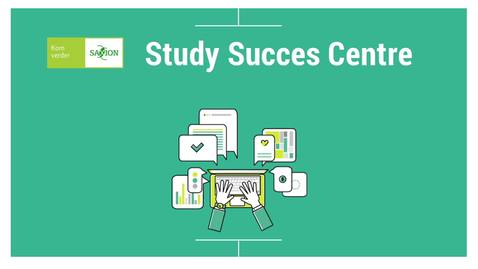 Thumbnail for entry Video about services from the Study Success Centre for first year students