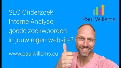 Thumbnail for entry Zoekmachine Optimalisatie (SEO) Deel 3: Interne Analyse, hoe scoort jouw website.