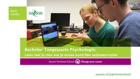 Thumbnail for entry Bachelor Toegepaste Psychologie: Louis laat je zien wat je ermee kunt! Met audiodescriptie