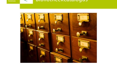 Thumbnail for entry 4/6 Bibliotheekcatalogus