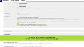 Thumbnail for entry Blackboard - SafeAssign opdracht maken