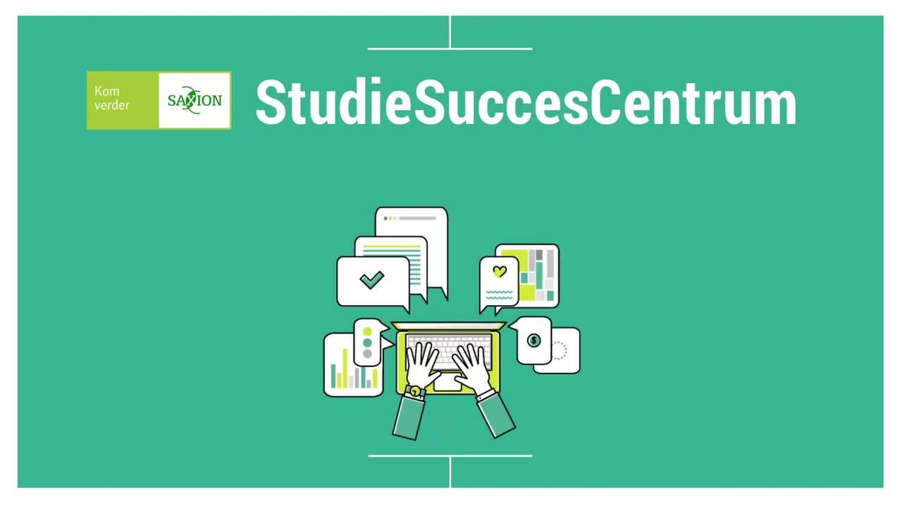 Video over aanbod van het StudieSuccesCentrum voor eerstejaarsstudenten NL