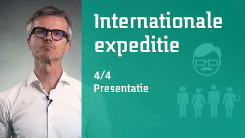 Thumbnail for entry 4/4 Internationale expeditie : presentatie