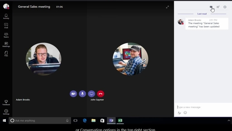 Thumbnail for entry Office 365 - Teams - How to participate into meetings