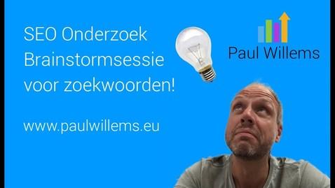 Thumbnail for entry Zoekmachine Optimalisatie (SEO) Deel 1: Brainstormen voor zoekwoorden.