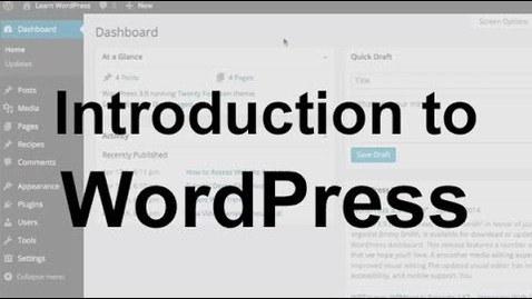 Thumbnail for entry OBKM06 - WordPress Tutorial 1: Introduction