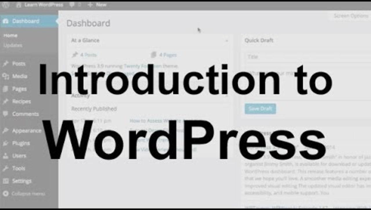 OBKM06 - WordPress Tutorial 1: Introduction