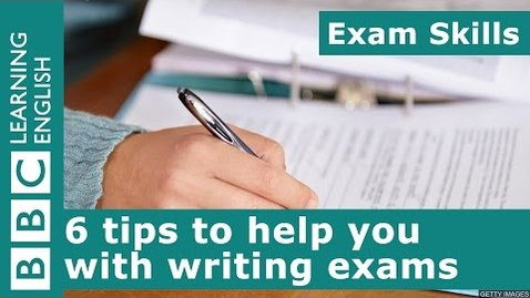 Thumbnail for entry Exam skills: 6 tips to help you with writing exams