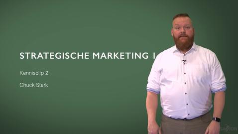 Thumbnail for entry Kennisclip 2: Strategische Marketing deel 1