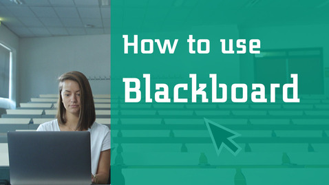 How to use Blackboard