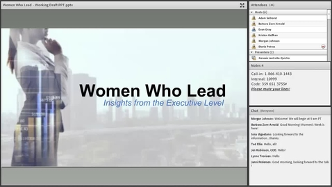 Thumbnail for entry Mari Schuldt and Genesis Lastrella Quicho: Women in the Workplace:Insights from the Executive Level