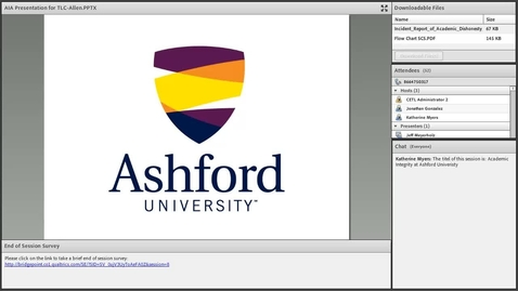 Thumbnail for entry Academic Integrity at Ashford University