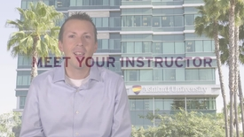 Thumbnail for entry Meet Your Instructor