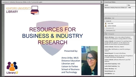 Thumbnail for entry Resources for Business & Industry Research
