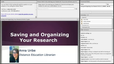 Saving and Organizing Your Research