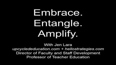 Thumbnail for entry 2016 Ashford TLC Keynote - Jen Lara
