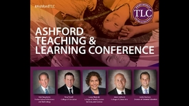 Thumbnail for entry 2016 Ashford TLC Keynote - Distinguished Dean Panel
