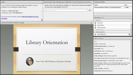 Thumbnail for entry Library Orientation