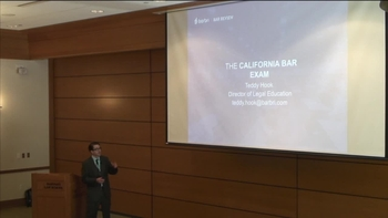 Barbri CA Bar Exam Presentation – Fall '17 | Harvard Law School